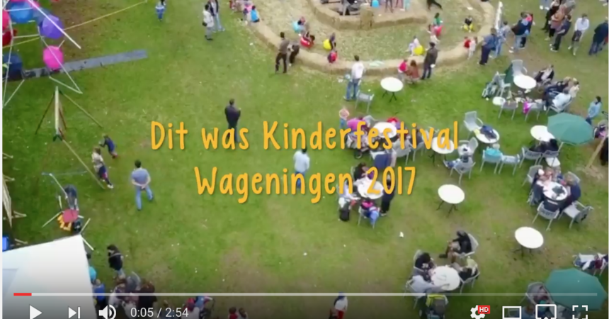 Screenshot van de Kinderfestival video-terugblik 2017