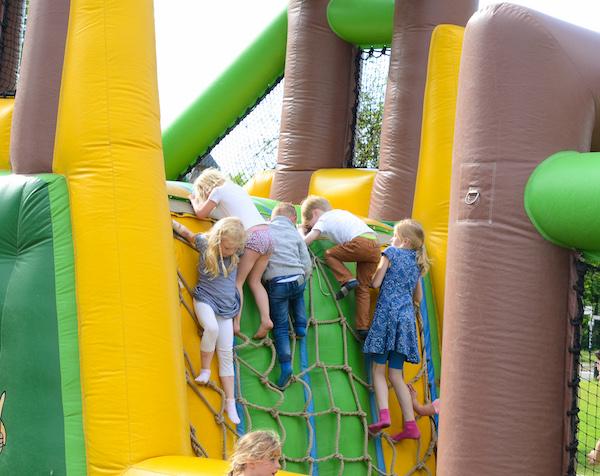 Stormbaan op Kinderfestival Wageningen