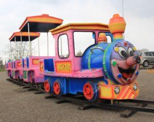 Trein op Kinderfestival Wageningen